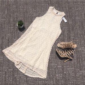Dresses & Skirts - Crochet sleeveless dress